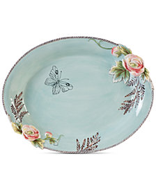 Fitz and Floyd English Garden Serving Bowl