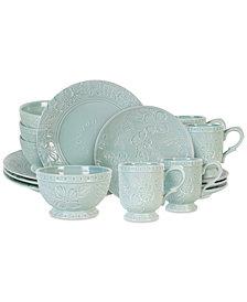 Fitz and Floyd English Garden 16-Pc. Dinnerware Set