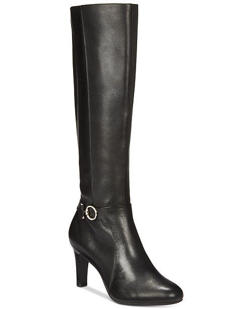 54c79e6fe12 Bandolino Lella Dress Boots, Created for Macys & Reviews - Boots ...