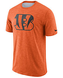 Nike Men's Cincinnati Bengals Dri-Fit Cotton Slub On-Field T-Shirt