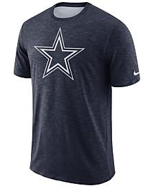Nike Men's Dallas Cowboys Dri-Fit Cotton Slub On-Field T-Shirt