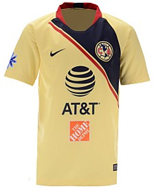 Nike Club America Club Team Away Stadium Jersey, Big Boys (8-20)
