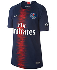 Nike Paris Saint-Germain Club Team Home Stadium Jersey, Big Boys (8-20)