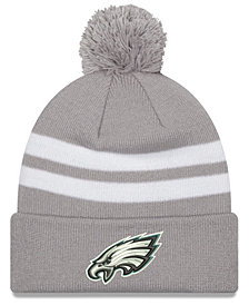 New Era Philadelphia Eagles Pom Knit