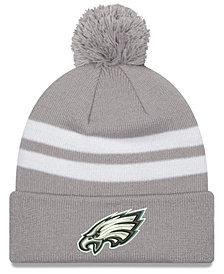 New Era Philadelphia Eagles Pom Knit