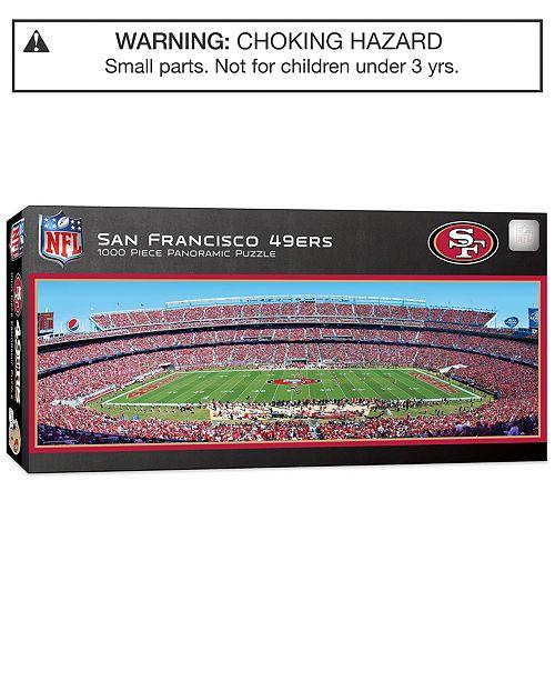 e7913354 MasterPieces San Francisco 49ers 1000 Piece Panoramic Puzzle