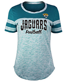 5th & Ocean Women's Jacksonville Jaguars Space Dye T-Shirt