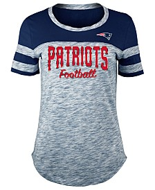 5th & Ocean Women's New England Patriots Space Dye T-Shirt