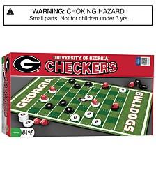 MasterPieces Georgia Bulldogs Checkers