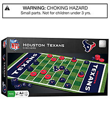 MasterPieces Houston Texans Checkers