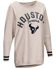 Touch by Alyssa Milano Women's Houston Texans Backfield Long Sleeve Top