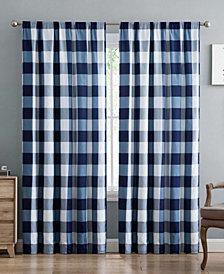 Truly Soft Everyday Buffalo Plaid Window Panel Pair Set