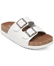 Goldiie Footbed Sandals