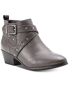 Style & Co Harperr Strappy Booties, Created for Macy's