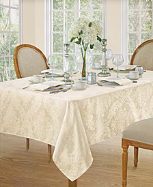 Elrene Barcelona Damask Antique Table Linen Collection
