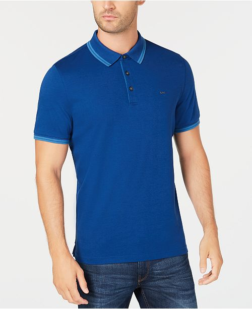 360747a4 Michael Kors Men's Liquid Cotton Greenwich Polo Shirt; Michael Kors Men's  Liquid Cotton Greenwich Polo ...