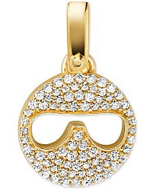 Michael Kors Women's Custom Kors 14K Gold-Plated Sterling Silver Sunglass Emoji Charm
