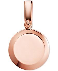 Michael Kors Women's Custom Kors Sterling Silver Disc Charm