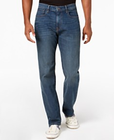 42e2e1019 Tommy Hilfiger Men's Relaxed Fit Stretch Jeans, Created for Macy's