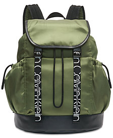 Calvin Klein Hebe Nylon Backpack