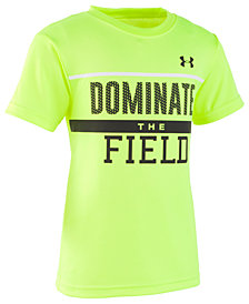 Under Armour Little Boys Dominate the Field Graphic T-Shirt