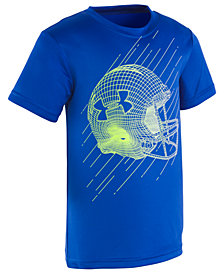 Under Armour Toddler Boys Football-Print T-Shirt
