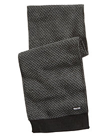 Kenneth Cole Reaction Men's Piqué Knit Scarf