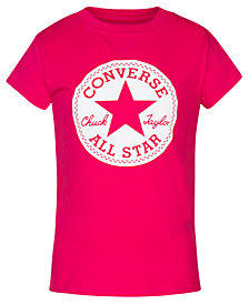 Converse Big Girls Chuck Taylor Signature Cotton T-Shirt