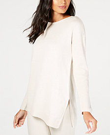 I.N.C. Asymmetrical Tunic Sweater, Created for Macy's