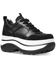 MICHAEL Michael Kors Felicia Flatform Dad Sneakers