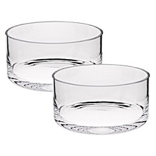 Manhattan 5 Inch Crystal Bowl - Set of 2