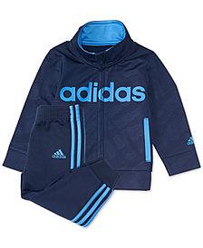 adidas Toddler Boys 2-Pc. Moto Camo Jacket & Pants Set