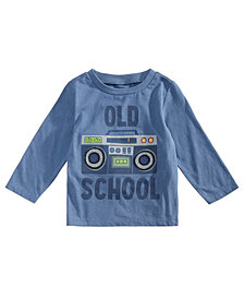 First Impressions Toddler Boys Old School Graphic Cotton T-Shirt, Created for Macy's