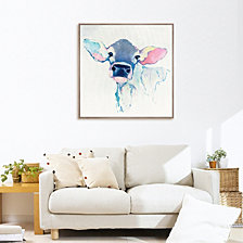 Bessie Framed Printed Canvas