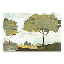 October Sun Hand Embellished Canvas