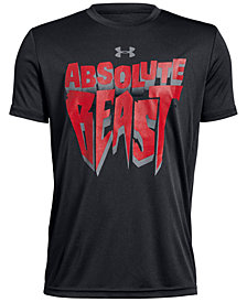 Under Armour Big Boys Beast-Print T-Shirt