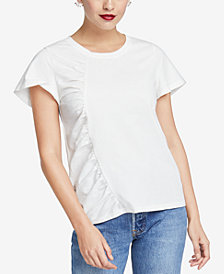 RACHEL Rachel Roy Amelie Ruched Top, Created for Macy's