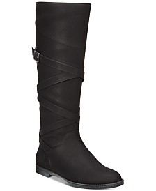 Easy Street Memphis Wide-Calf Riding Boots