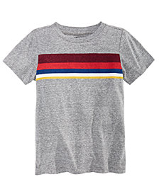 Epic Threads Little Boys Chest Stripe T-Shirt, Created for Macy's