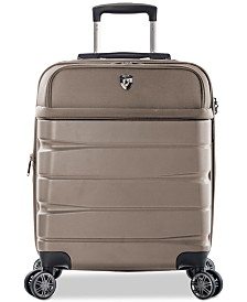 "CLOSEOUT! Heys Charge-A-Weigh 21"" Hybrid Carry-On Spinner Suitcase"