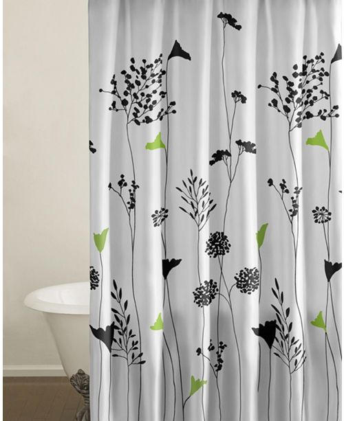 Perry Ellis Asian Lily Shower Curtain