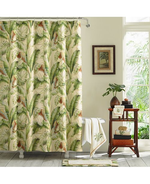 Tommy Bahama Home Tommy Bahama Palmiers Shower Curtain