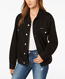 Calvin Klein Jeans Logo Trucker Jacket