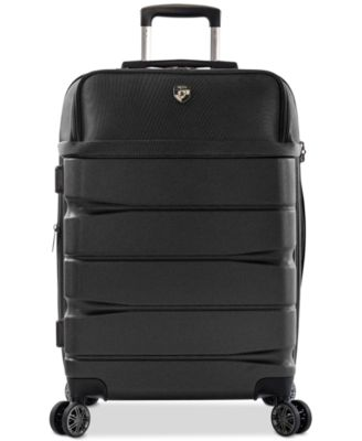 "Charge-A-Weigh 26"" Hybrid Spinner Suitcase"