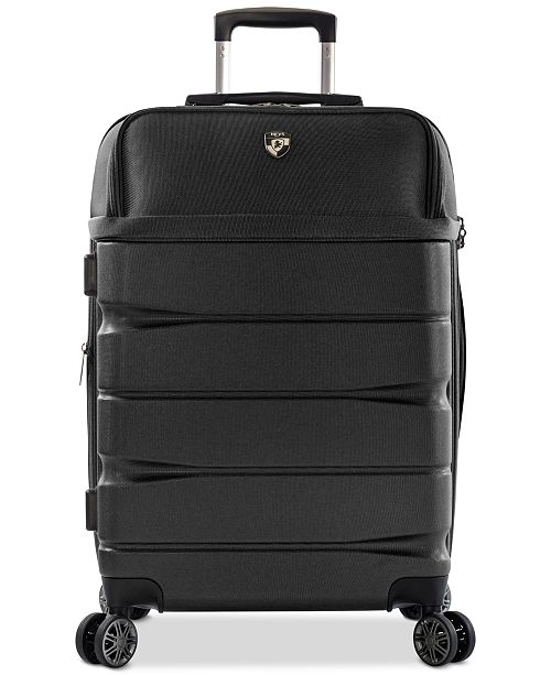 """Heys CLOSEOUT! Charge-A-Weigh 26"""" Hybrid Spinner Suitcase"""