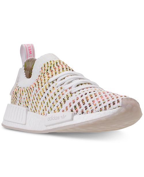 503e59e4b ... adidas Women s NMD R1 STLT Primeknit Casual Sneakers from Finish ...