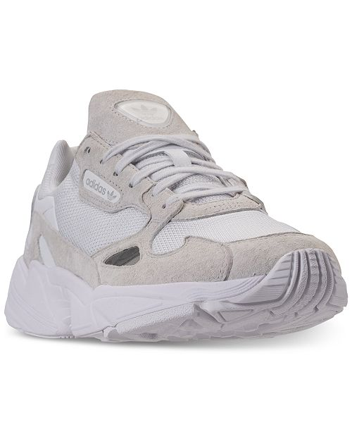 online store c6cac 611e5 ... adidas Women s Falcon Athletic Sneakers from Finish ...