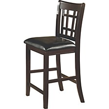 Fieldston Transitional Counter Height Chair, Set of 2
