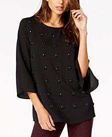 Alfani Studded Top, Created for Macy's