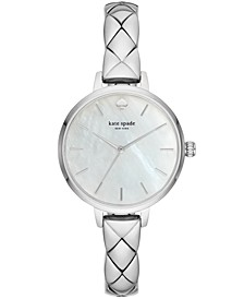 Women's Metro Stainless Steel Bracelet Watch 34mm